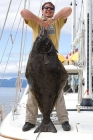 Click to see details of Pacific halibut (Hippoglossus stenolepis)
