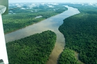 Click to see details of Aerial view of Amazon rainforest