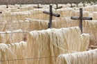 Click to see details of Sisal on drying racks near Fort Dauphin, southern Madagascar