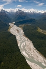 Click to see details of Fiordland National Park, South Island, New Zealand - aerial
