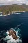 Click to see details of South coast of Stewart Island, New Zealand - aerial