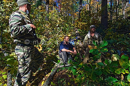 Arrested poachers: Siberian tiger anti-poaching