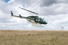 Click to see details of Kenya Wildlife Service helicopter, Nairobi National Park, Kenya