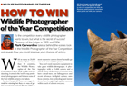 How to win the Wildlife Photographer of the Year competition